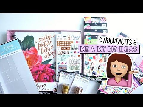 HAUL#21 - NOUVEAUTÉS ME & MY BIG IDEAS