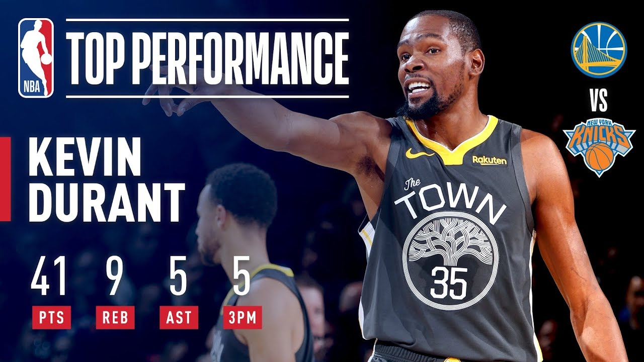 19fb8043dd65 Kevin Durant Drops 41 In The GARDEN