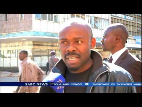 Zimbabwe tense amid national shutdown