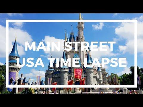 MAIN STREET USA TIME LAPSE AT DISNEY WORLD | MAGIC KINGDOM