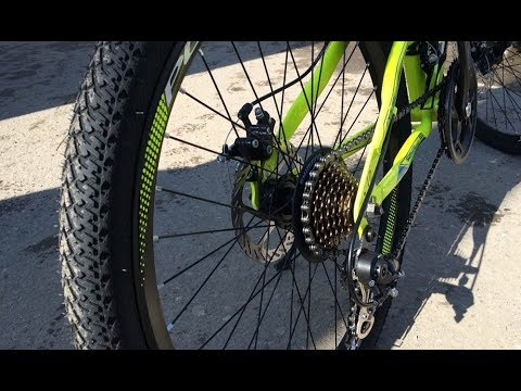 Простая и быстрая регулировка дискового  тормоза в велосипеде .