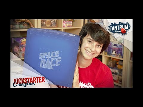 Space Race Board Game Preview