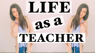 LIFE AS A TEACHER! Getting Sick, 100K Subscribers, + Planning Lessons
