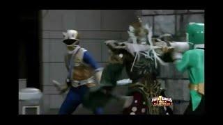 "Могучие рейнджеры:супер Самураи 14 серия ""Мир треснул"" Могучие рейнджеры vs Серратор"