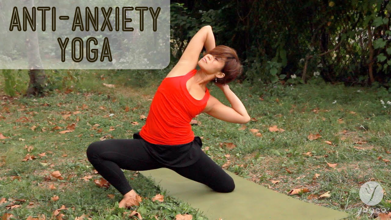 anti anxiety yoga routine loosen the grip open level youtube. Black Bedroom Furniture Sets. Home Design Ideas