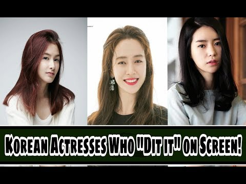 "11 Korean Actress Who ""Did It"" On Screen!"