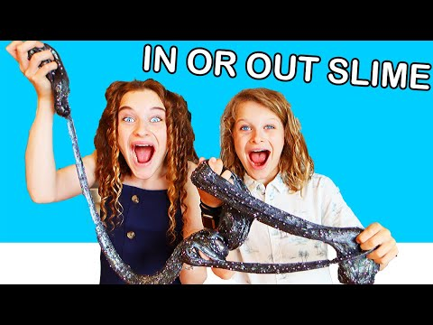 IN OR OUT SLIME SPILL Challenge By The Norris Nuts