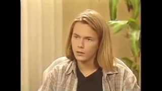 リバー・フェニックス インタビュー(1988年)