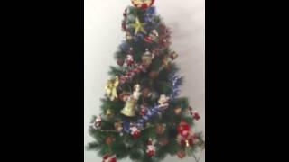 白天聖誕樹展示影片【888便利購】文具批發、玩具批發