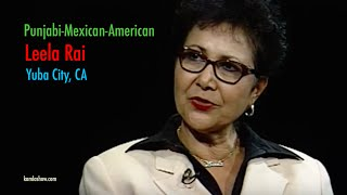 Leela Rai - Punjabi-Mexican-American From Yuba City In California