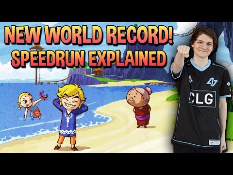 NEW Zelda: Wind Waker Any% World Record In 1:04:50 (With Commentary)