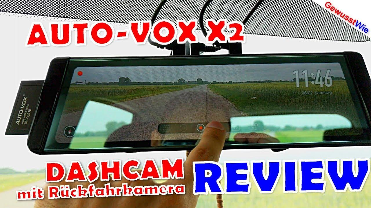 dashcam auto vox x2 full review filmen vorne und. Black Bedroom Furniture Sets. Home Design Ideas