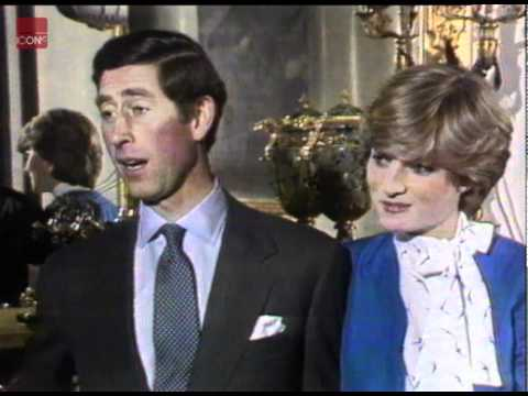 Princess Diana And Prince Charles Talking About Their