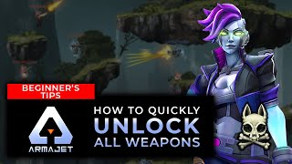 How to Quickly Unlock ALL WEAPONS! | Armajet screenshot 3