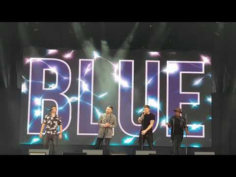 Blue - U Make Me Wanna - Slessor Gardens Dundee - 22 June 2018