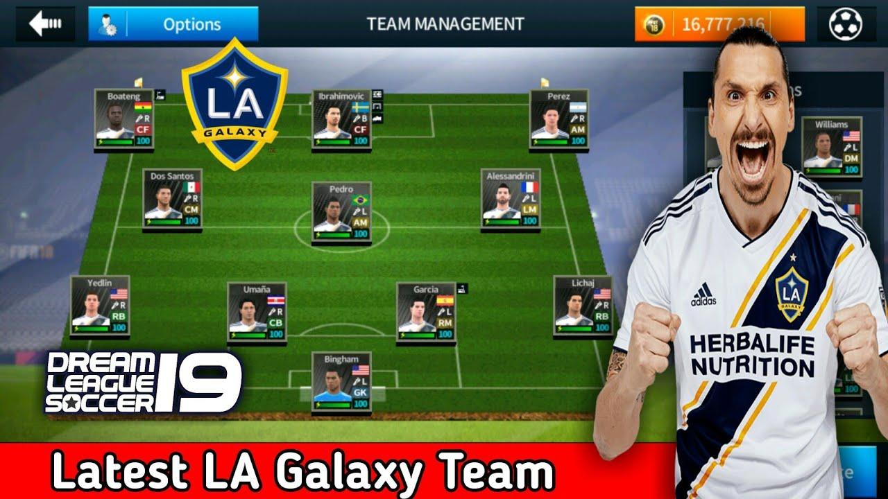 best website a9dca 767a3 Create LA Galaxy Team ★ Kits Logo & Players ★ Dream League Soccer 2018
