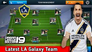 Create LA Galaxy Team ★ Kits Logo & Players ★ Dream League Soccer 2018