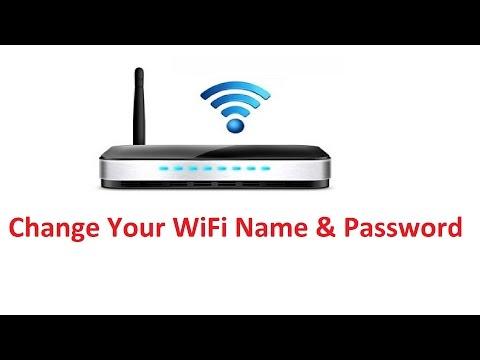 Change WiFi Name & Password!! - Howtosolveit - YouTube