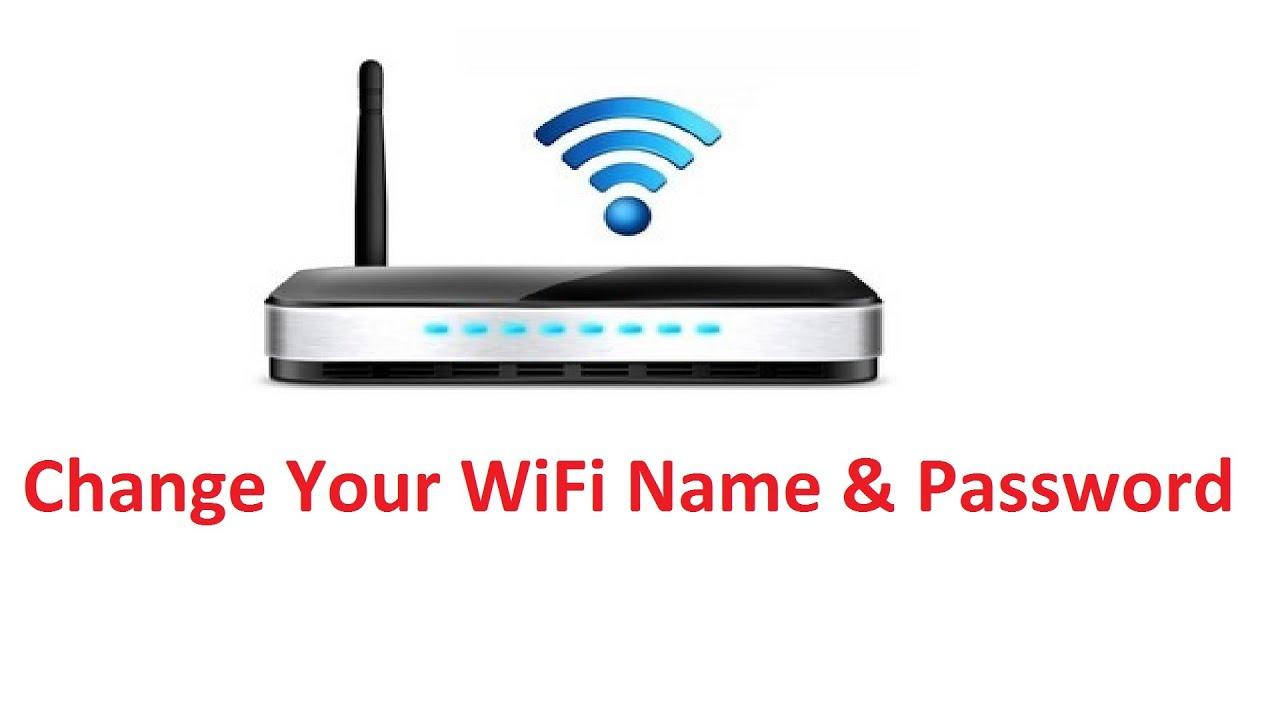 *Change WiFi Name & Password!! - Howtosolveit