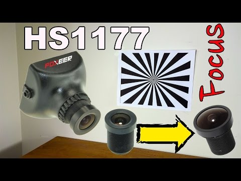 How To Change And Focus The HS1177 Lens