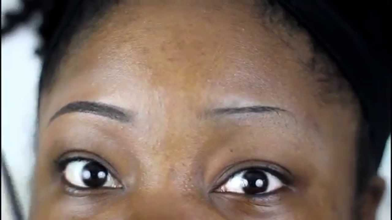 How to Make THIN Brows look THICKER - YouTube
