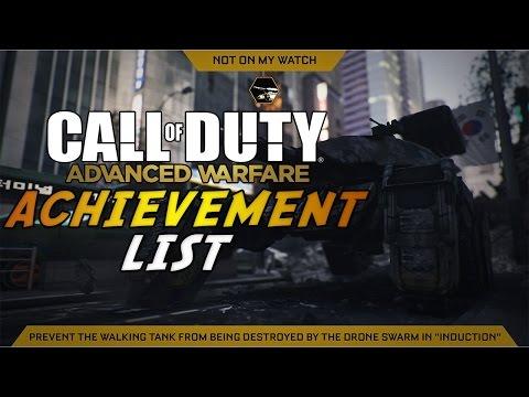 Call of Duty: Advanced Warfare - Achievement List Revealed