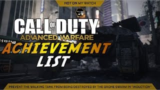 Call of Duty: Advanced Warfare - Achievement List Revealed