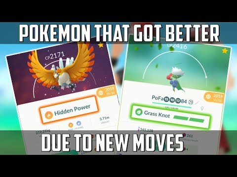 New Moves Just Made These Pokemon Better In Pokemon Go! thumbnail