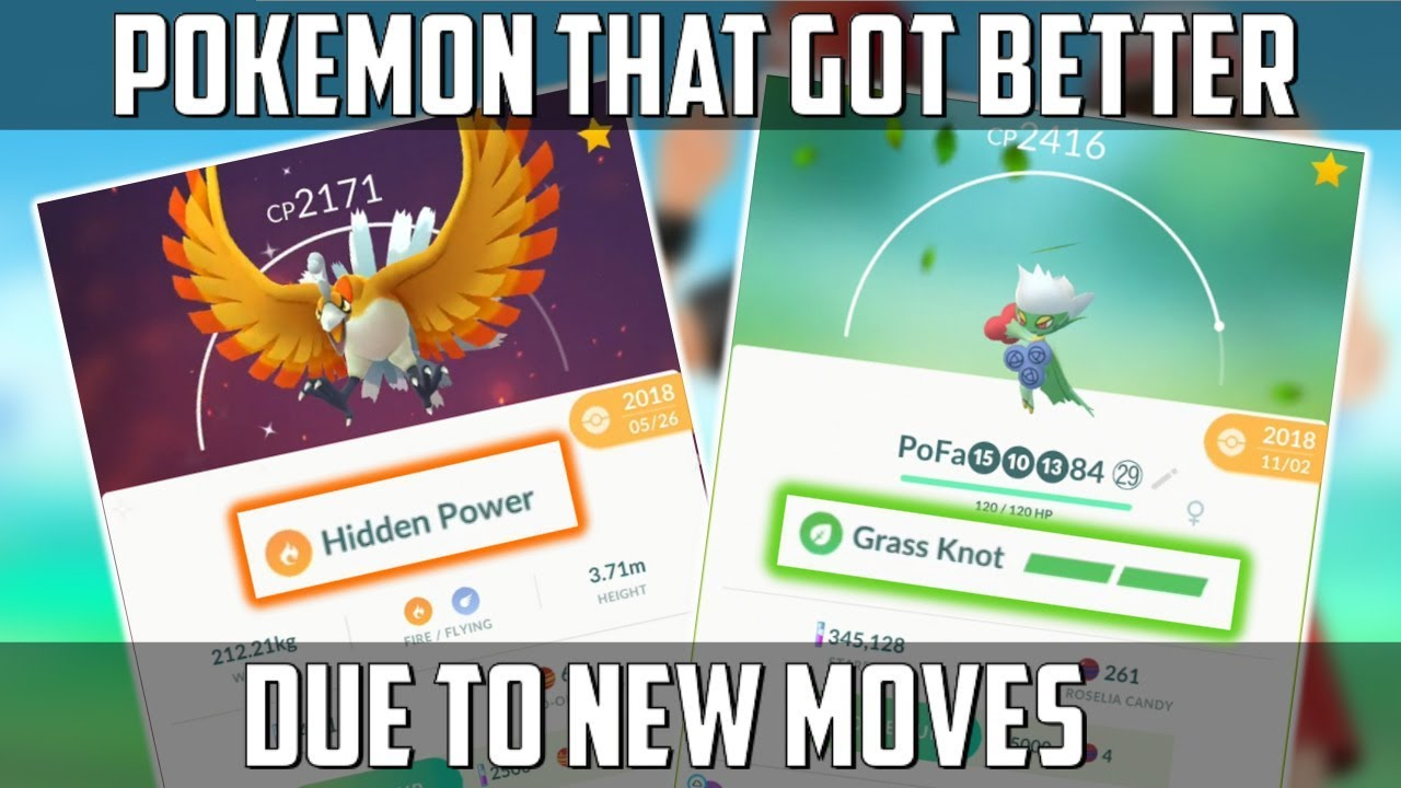 New Moves Just Made These Pokemon Better In Pokemon Go!