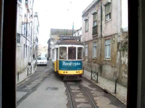 Lisbon tram 28 (eléctrico) - Straßenbahn Lissabon - Eléctricos de Lisboa - Portugal Tramway