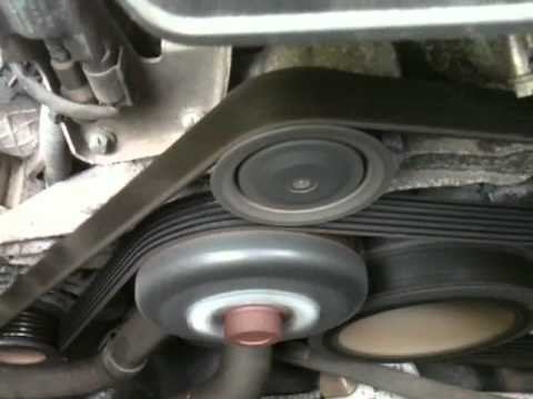 W203 m112 engine serpentine belt chirping noise doovi for Mercedes benz catalytic converter recall