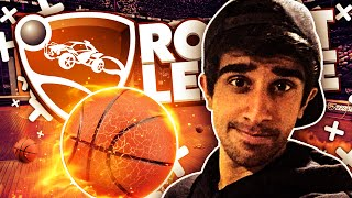 BASKETBALL HOOPS! - ROCKET LEAGUE #20 with Vikkstar