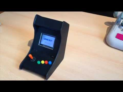 Gameboy Advance SP Arcade Cabinet - YouTube