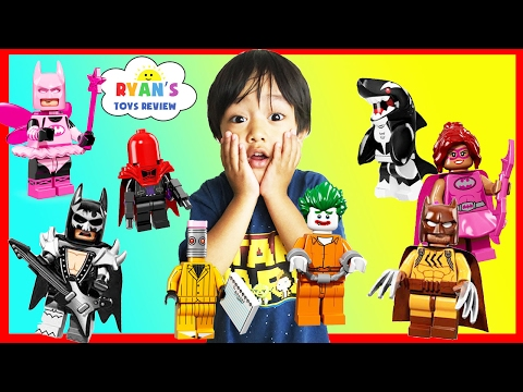 Thumbnail: THE LEGO BATMAN MOVIE Toy Collection Minifigures Blind Bag Challenge Superhero Surprise Kids Toys