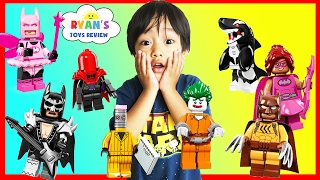 THE LEGO BATMAN MOVIE Toy Collection Minifigures Blind Bag Challenge Superhero Surprise Kids Toys