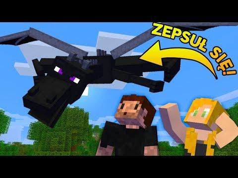 TEN SMOK SIĘ ZEPSUŁ! - Minecraft Survi 1.13 | AGU i ZIO