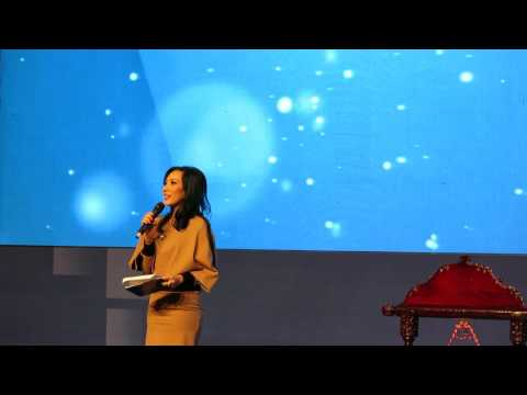 MC at Opening Ceremony at LPG Indonesia Forum 2017 - MC Lila Gyanto-  Shangri-La Hotel