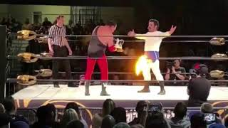 Jerry Lawler, Joey Ryan tribute to Andy Kaufman