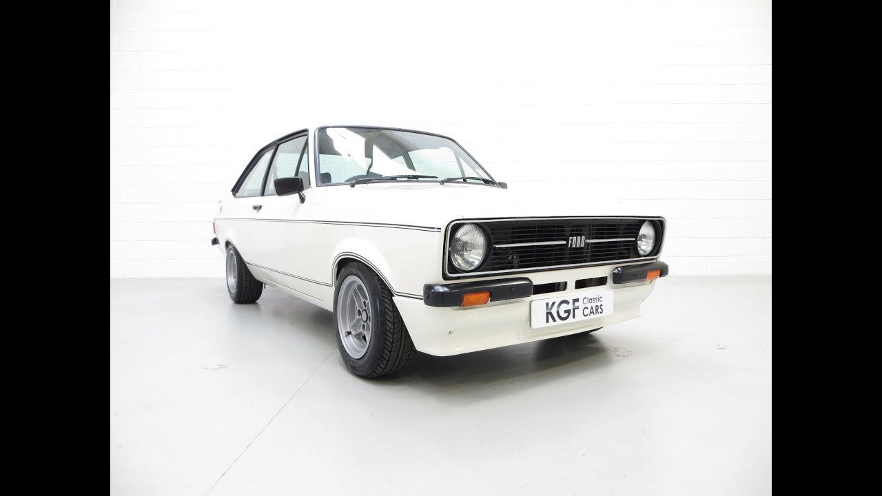 An Iconic, Very Rare Mk2 Ford Escort RS Mexico in Show Condition ...