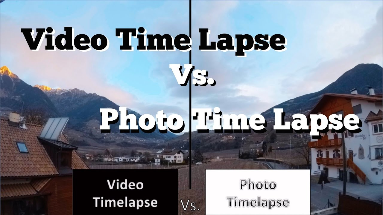 Gopro Hero 5 Vs Hero 4 >> GoPro Hero 5 and Hero 6 - Video Time Lapse vs. Photo Time Lapse - which is better? - YouTube