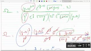 Use Sterling's Approximation To Find The Multiplicity Of An Einstein Solid P2-18