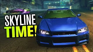 Need for Speed Underground 2 Let's Play - FINALLY Unlocked the Nissan SKYLINE! (Part 21)
