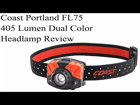 Coast FL75 405 Lumen Focusing Headlamp Review