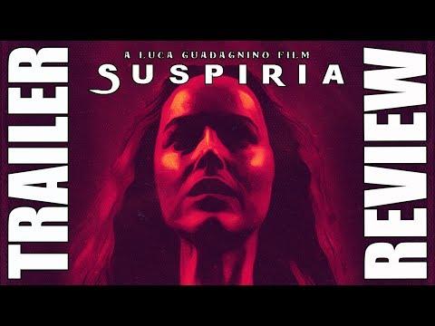 SUSPIRIA - TRAILER REACCIÓN - REVIEW - REACTION - GUADAGNINO - ARGENTO - DAKOTA JOHNSON - ESPAÑOL