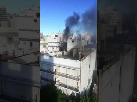 Se reavivaron las llamas en edificios linderos a Torres y Liva