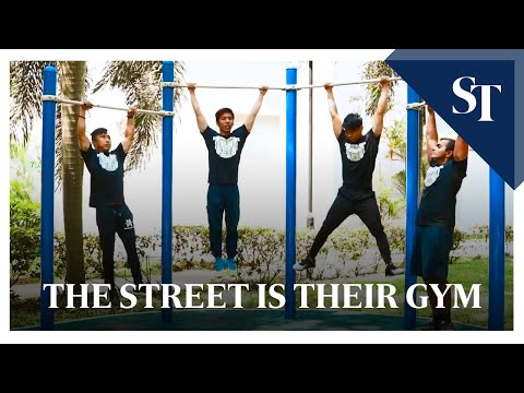 The Street Is Their Gym | The Straits Times