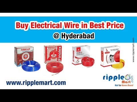 Electrical Wire Online : Buy Electrical Wire In Hyderabad @ Best Prices On Ripple Mart