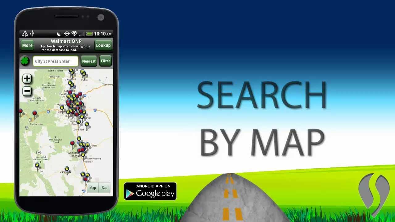 medium resolution of walmart overnight parking android app