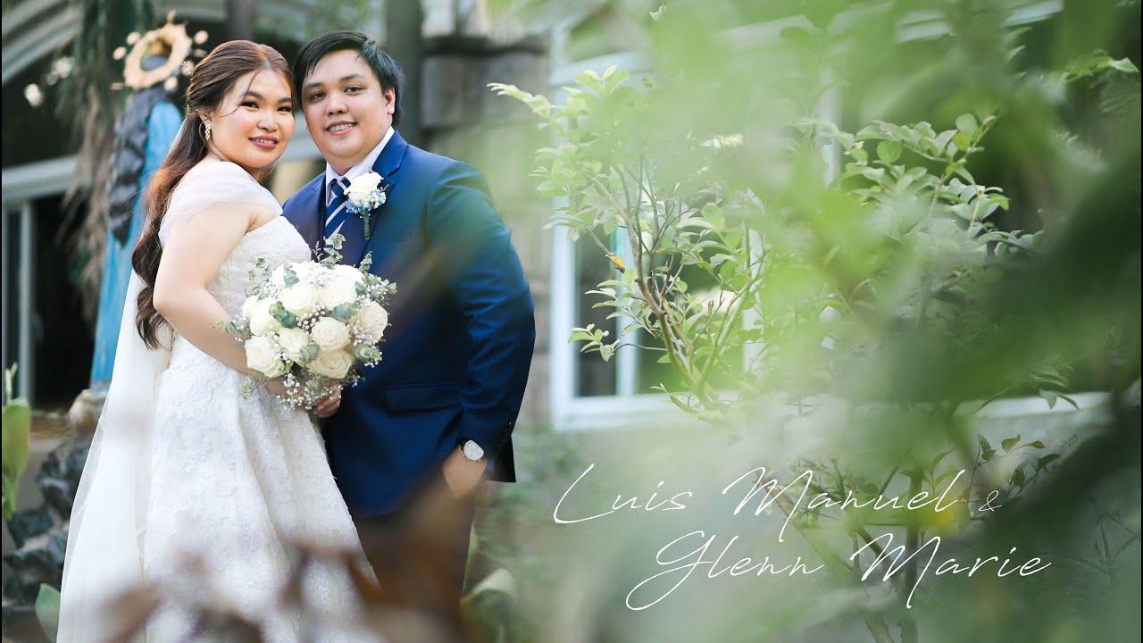 { Luis Manuel + Glenn Marie } Hearts of Jesus and Mary Parish | Felicidad Mansion | Wedding SDE