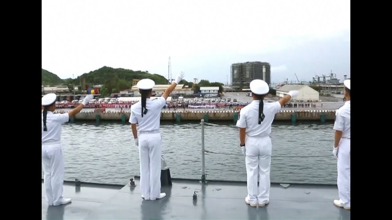 Chinese Naval Fleet Arrives in Thailand for Friendly Visit